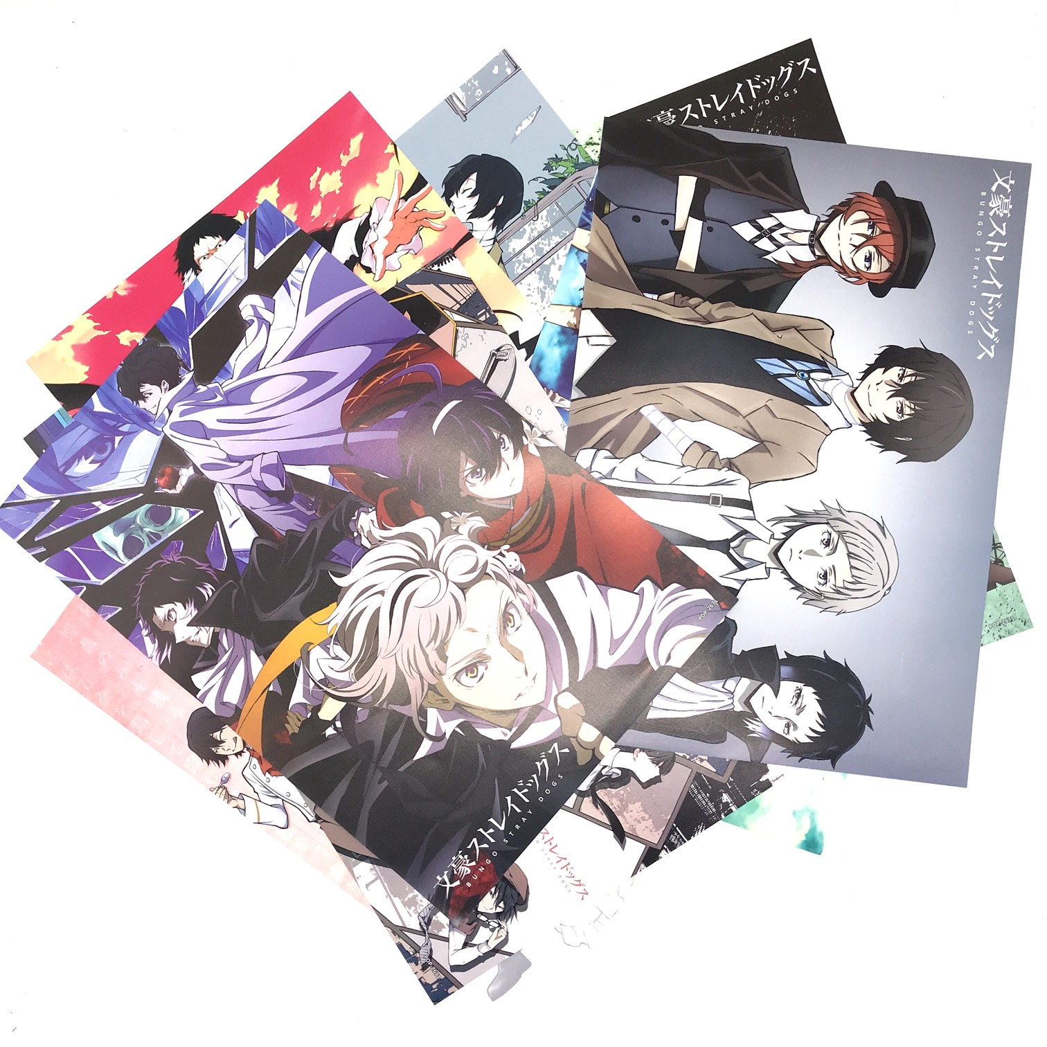 Bộ Poster Bungou Stray Dogs