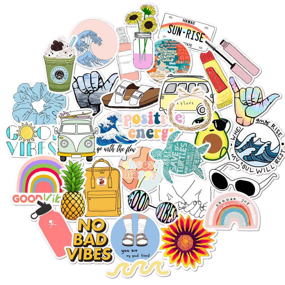 Set 60 VSCO Sticker động vật ảnh ép lụa