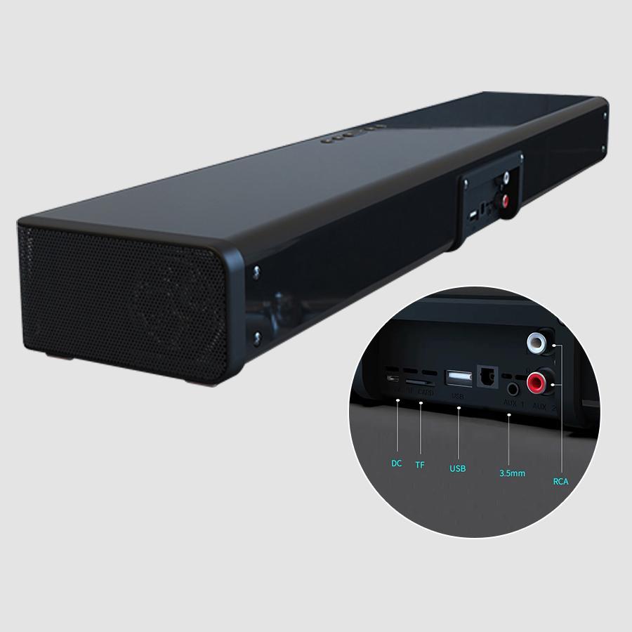 Loa Vi Tính Bluetooth Công Suất 20W, Hỗ Trợ Sạc Không Dây Cho Điện Thoại, Âm Thanh Đạt Chuẩn HD