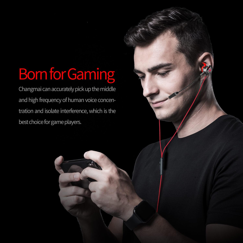 Tai Nghe Gaming Có Mic Rời xMOWI RX3 Dùng Được Cho Cả Máy Tính Và Điện Thoại - Màu Đen - Hàng Chính Hãng