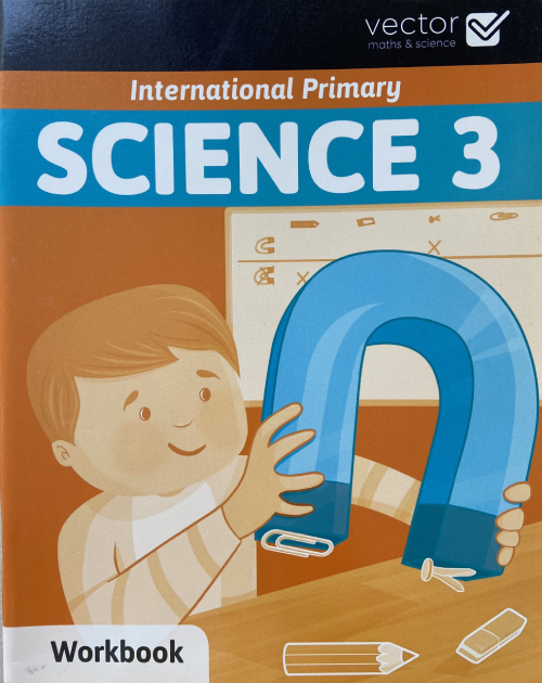 Vector: Sách hệ Cambrige - Học khoa học bằng tiếng Anh - Science 3 Workbook