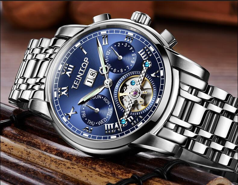 Đồng hồ nam chính hãng Teintop T7795-3