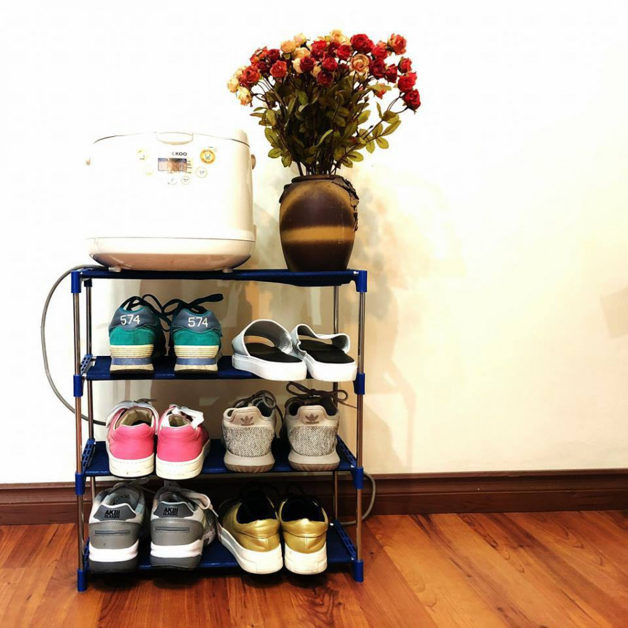 Kệ để giày Chefman 4 tầng CM - 214