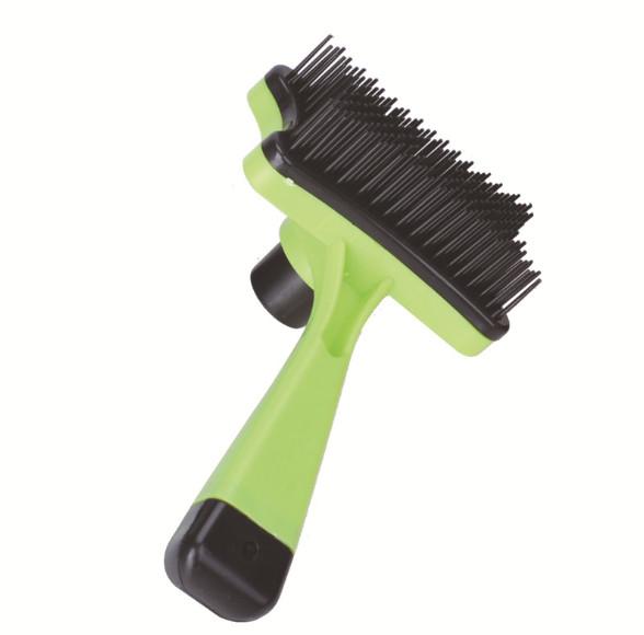 Lược chải lông cho chó mèo có nút loại bỏ lông thừa