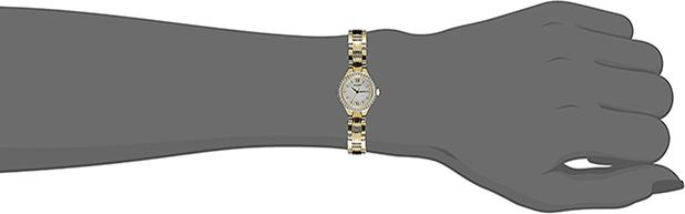 Đồng Hồ Citizen Nữ Đính Đá Swarovski Dây Kim Loại Pin-Quartz EJ6092-58D - Mặt Xà Cừ (24mm)