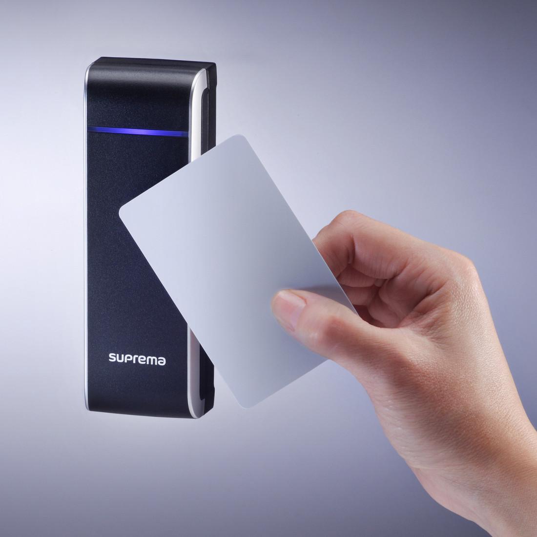 Đầu đọc thẻ tích hợp bộ điều khiển Suprema Xpass (XPM-PoE) - Hàng chính hãng