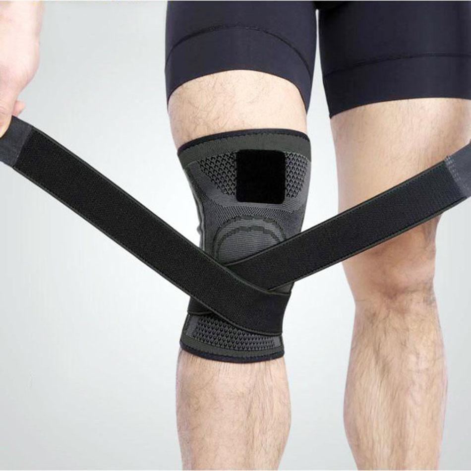 Băng đai bảo vệ đầu gối tập gym dạng ống thoát mồ hôi AK.24