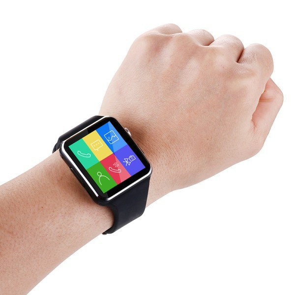 Đồng Hồ Thông Minh Smart Watch X6 Màn Hình Cong - Đen