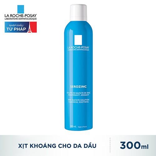 Xịt Khoáng Giúp Làm Sạch Và Dịu Da La Roche Posay Serozinc 300ml