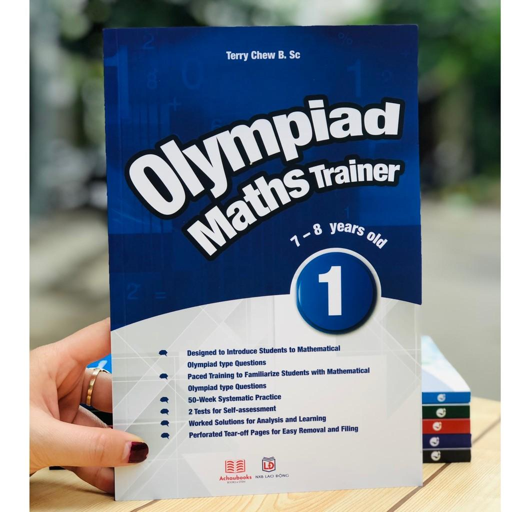 Sách: Olympiad Maths Trainer 1 - Toán cho trẻ 7- 8 tuổi