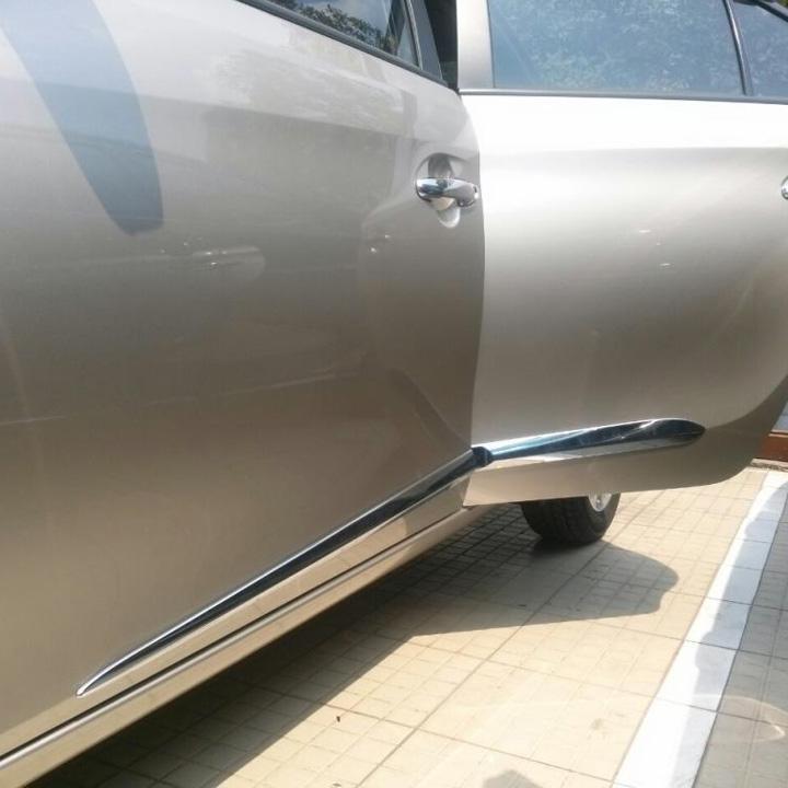 Bộ ốp sườn, nẹp sườn dành cho xe Toyota Vios 2019