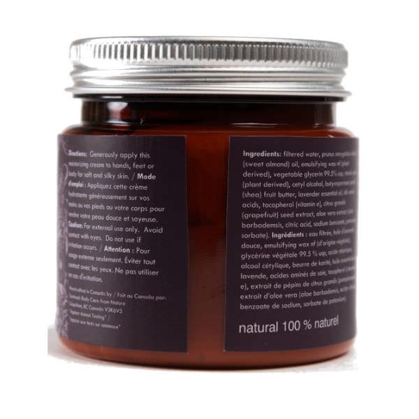 Kem Dưỡng Tay Chân Lavender Harvest Natural Hand & Foot Repair Cream Scentuals (125ml)