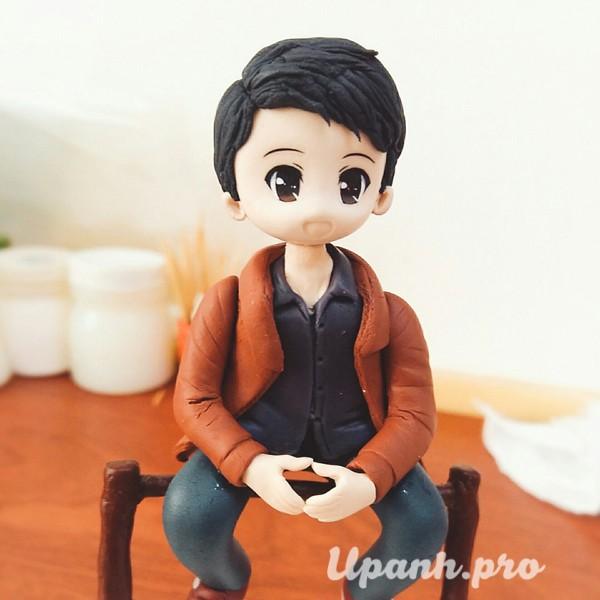 Khuôn Chibi, Tượng Chibi Búp Bê Figure Đất Sét Nhật Bản Manga Anime số 5