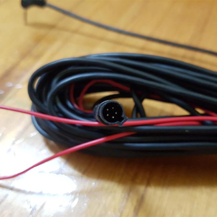 Dây 10m kết nối camera hành trình trước và camera sau, jack 2.5mm, 5 chân, nhiều sợi, mềm