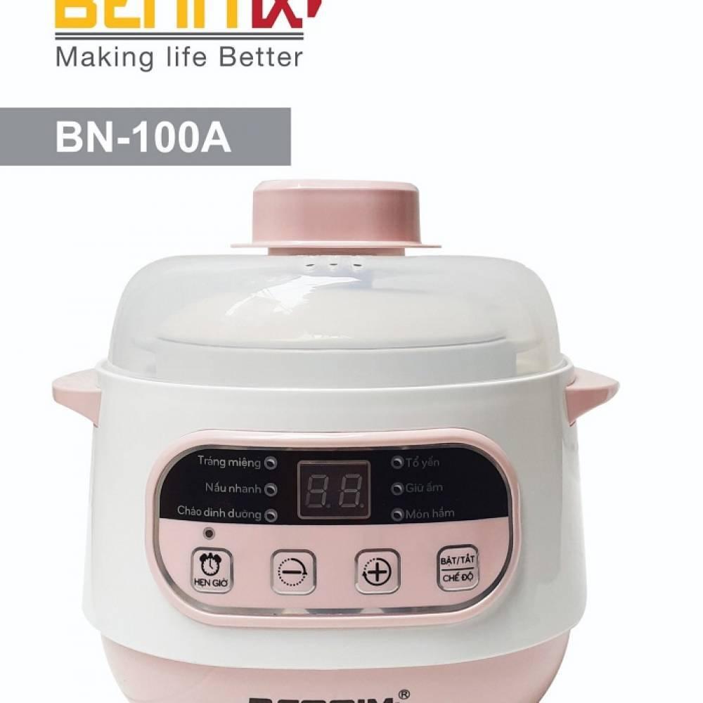 Nồi chưng yến, Nồi tiềm  Bennix BN-100A Công nghệ Thái lan - Hàng Chính hãng