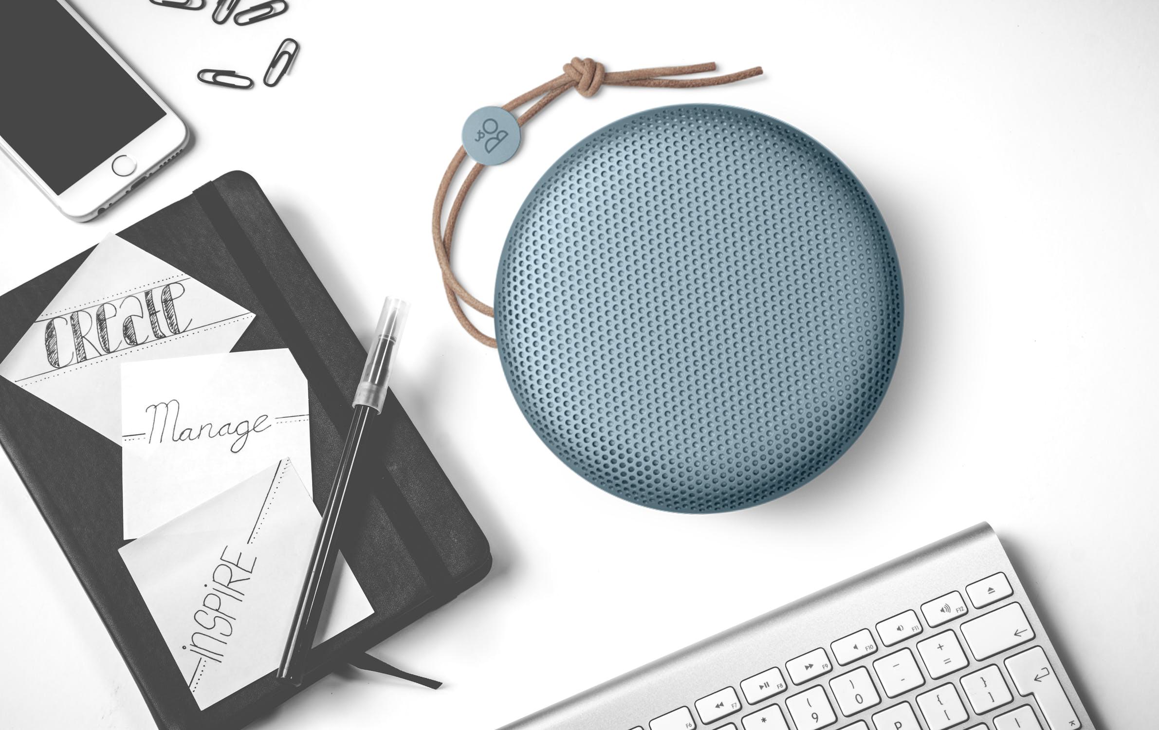 Loa Di Động Bluetooth Beoplay A1 Sky - Hàng chính hãng