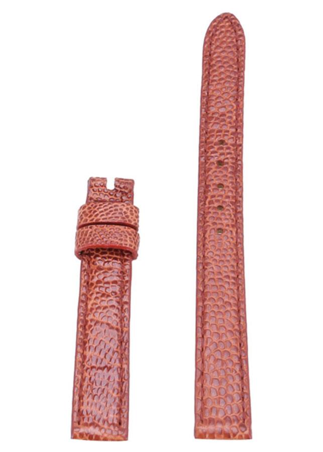 Dây Đồng Hồ Da Đà Điểu Size Nhỏ Huy Hoàng HT8419 - Vàng