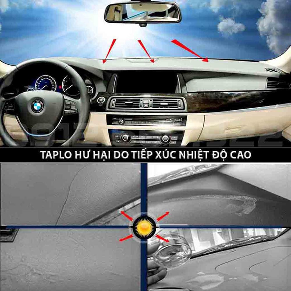 Thảm Taplo vân Carbon Cao Cấp Dành Cho xe TOYOTA WIGO