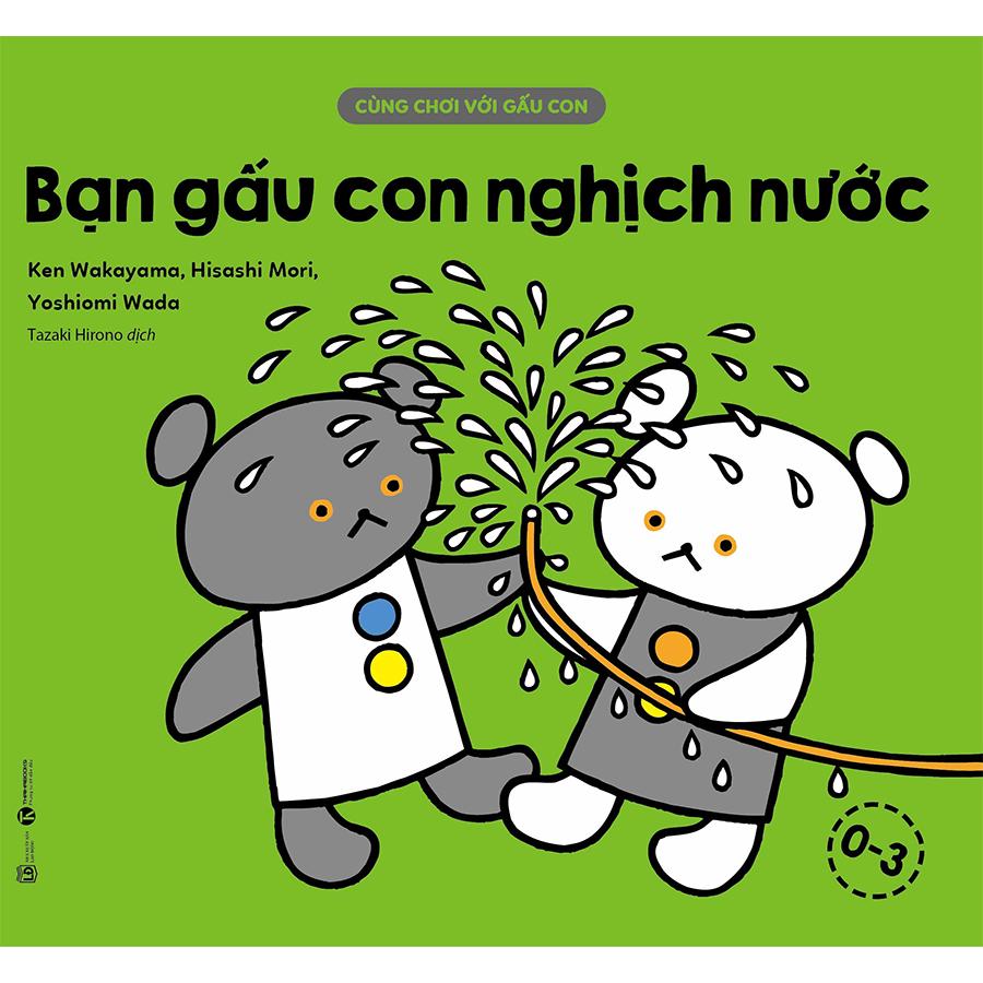 Combo 10 Quyển Cùng Chơi Với Gấu Con