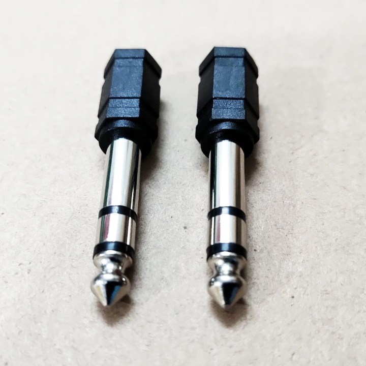 Combo 2 Jack 6mm ra 3,5mm - Hàng nhập khẩu