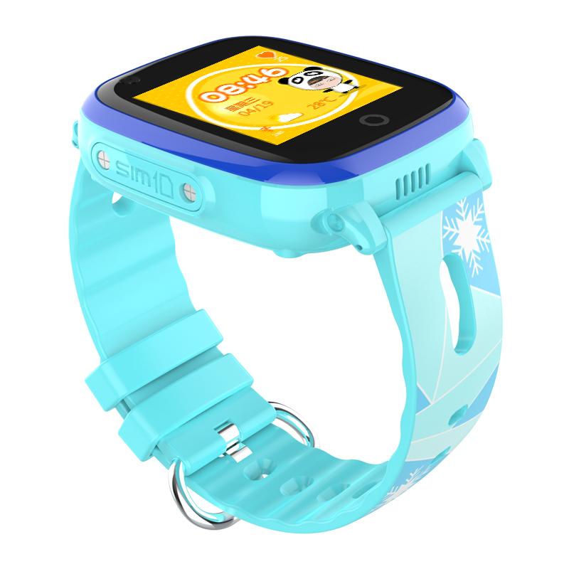 Đồng hồ định vị trẻ em KT10 chống nước IP67, gọi video call 4G