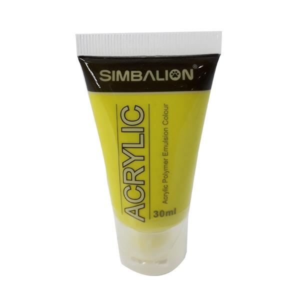 Màu Vẽ Simbalion Acrylic 30ml NAC30-02 - 46E - Vàng Chanh