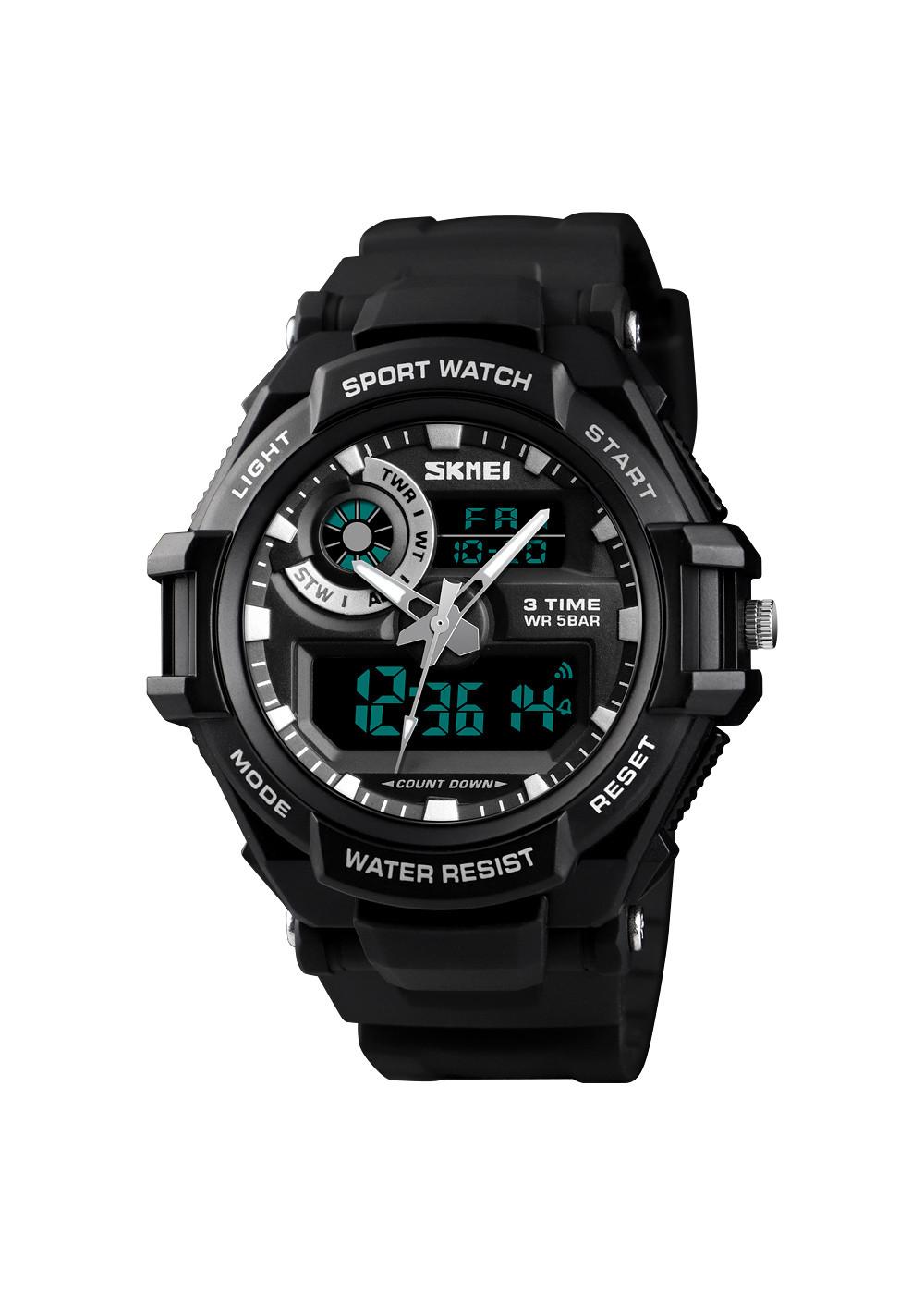 Đồng hồ điện tử thể thao nam SKMEI SK60 3 Times chống nước, bơi lội thoải mái