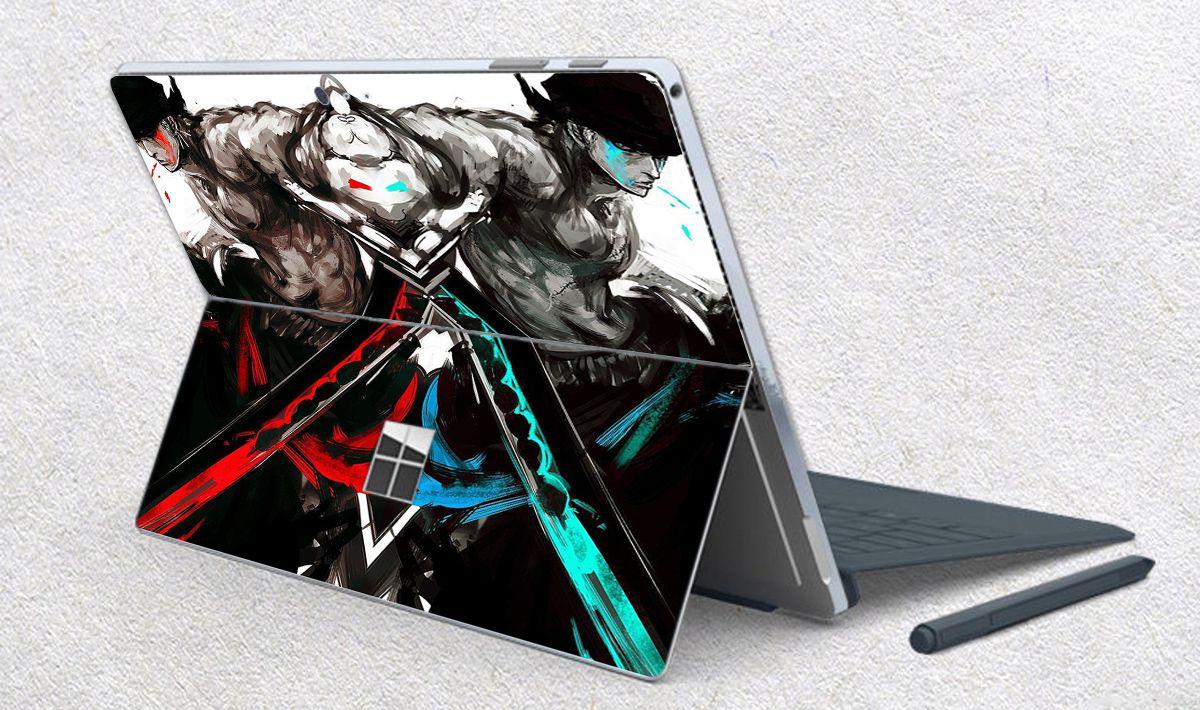 Skin dán hình One Piece x09 cho Surface Go, Pro 2, Pro 3, Pro 4, Pro 5, Pro 6, Pro 7, Pro X