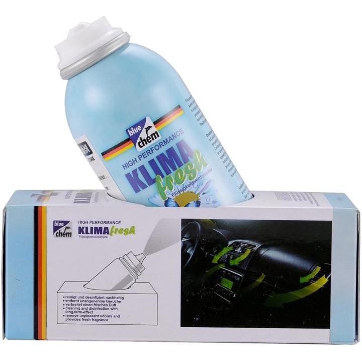 Chai xịt khử mùi và khử trùng máy lạnh và nội thất ô tô Bluechem 35140E
