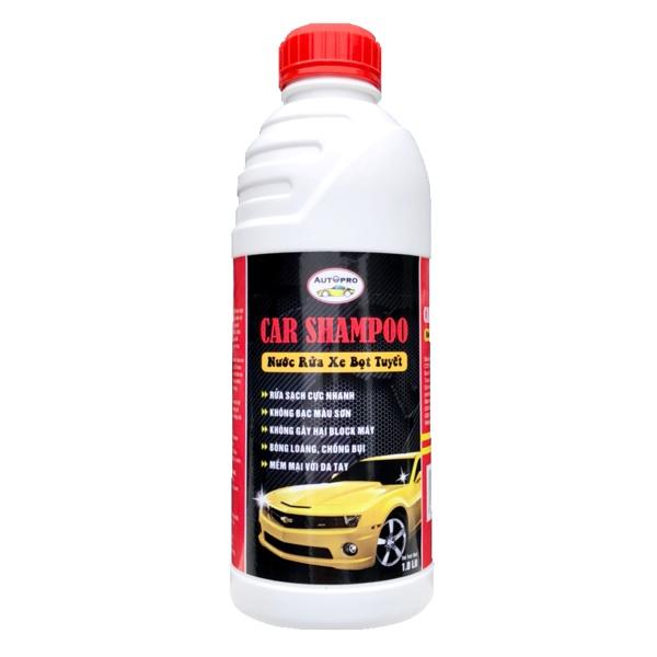 Combo Nước Rửa Xe Bọt Tuyết 1L Và Găng Tay Lau Xe GT315