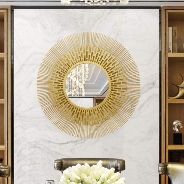Gương treo tường trang trí hình mặt trời