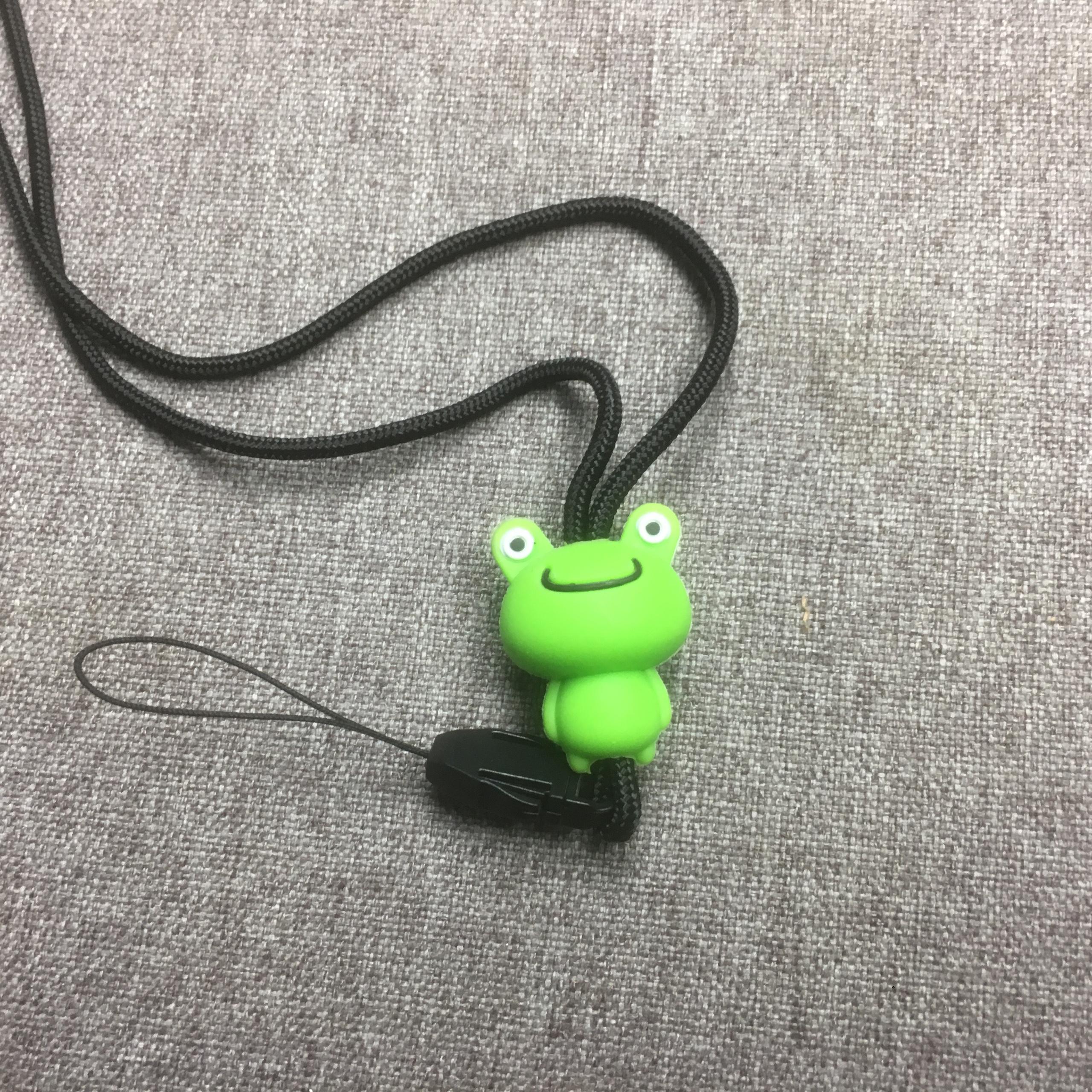 Dây đeo điện thoại hình thú chibi siêu dễ thương (Giao màu ngẫu nhiên) - Hàng chính hãng