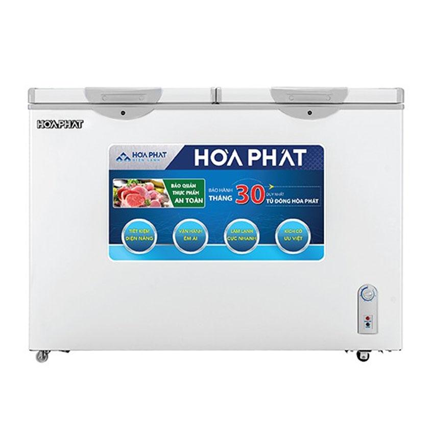 TỦ ĐÔNG MÁT HÒA PHÁT 245 LÍT HCF-606S2N2 NHÔM (R600A) (HÀNG CHÍNH HÃNG) (CHỈ GIAO HCM)