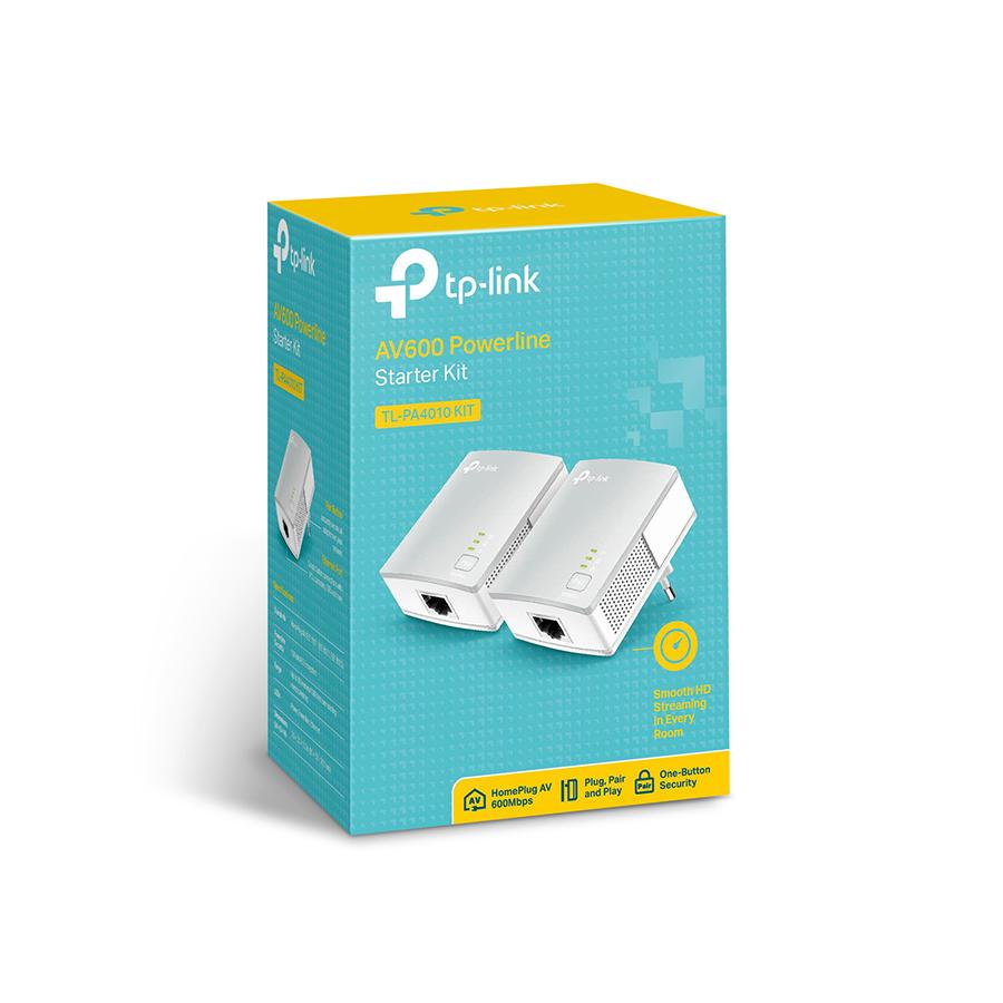 Bộ Chuyển Đổi Ethernet Powerline Nano AV600 TP-Link TL-PA4010KIT - Hàng Chính Hãng