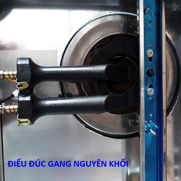 Bếp Gas SANKAtech SKT622 - Bếp ga Điếu đúc Gang, Sen Đồng Thau, 3 vòng lửa - Hàng chính hãng cao cấp