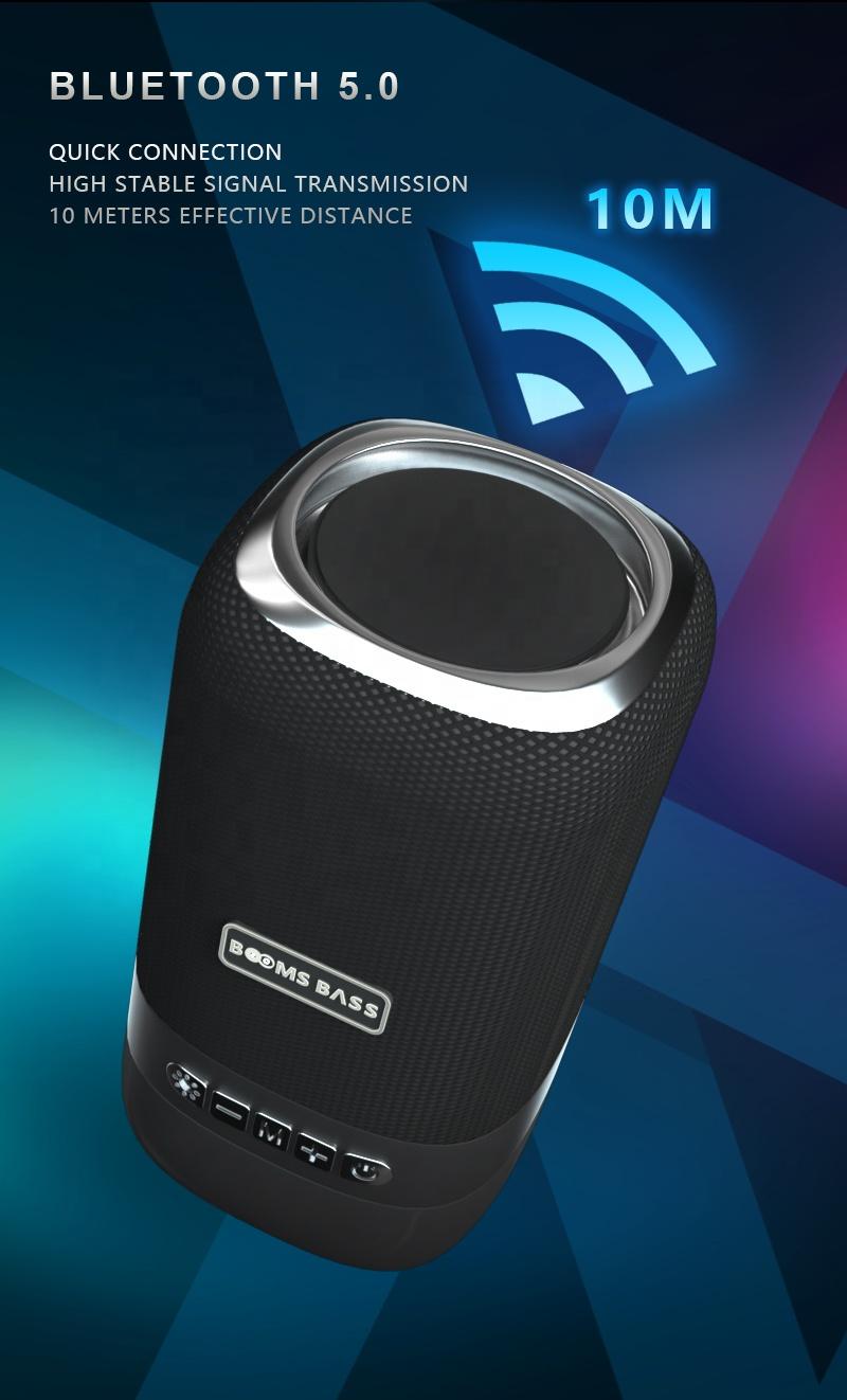 Loa Bluetooth Cầm Tay Boombass L22 Lanith - Loa Phát Không Dây Mẫu Mới - Thiết Kế Nhỏ Gọn, Tiện Lợi - Hỗ Trợ Cắm Thẻ Nhớ, USB, Âm Bass Cực Căng - Tặng Kèm Dây Cáp Sạc 3 Đầu - Hàng Nhập Khẩu - LB00022.CAP0001