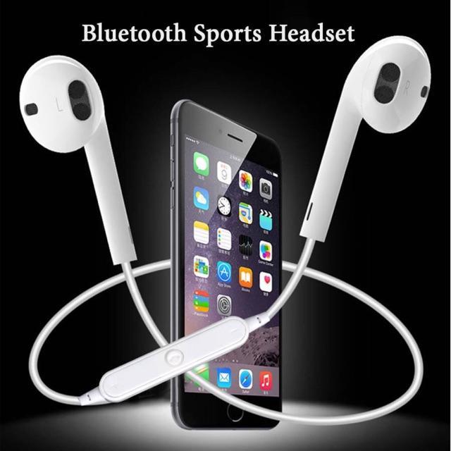 Tai Nghe Bluetooth Sport S6 Vòng Qua Cổ
