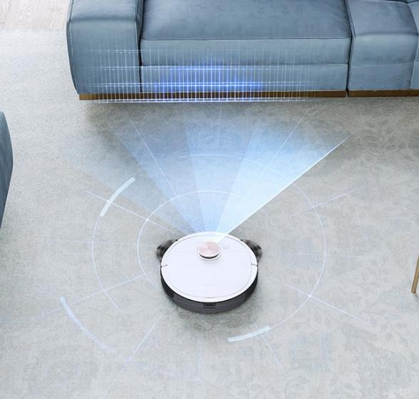 Robot hút bụi lau nhà Deebot Ozmo T8 - PHIÊN BẢN QUỐC TẾ- TIÊU CHUẨN CE CHÂU ÂU - Hàng Chính Hãng