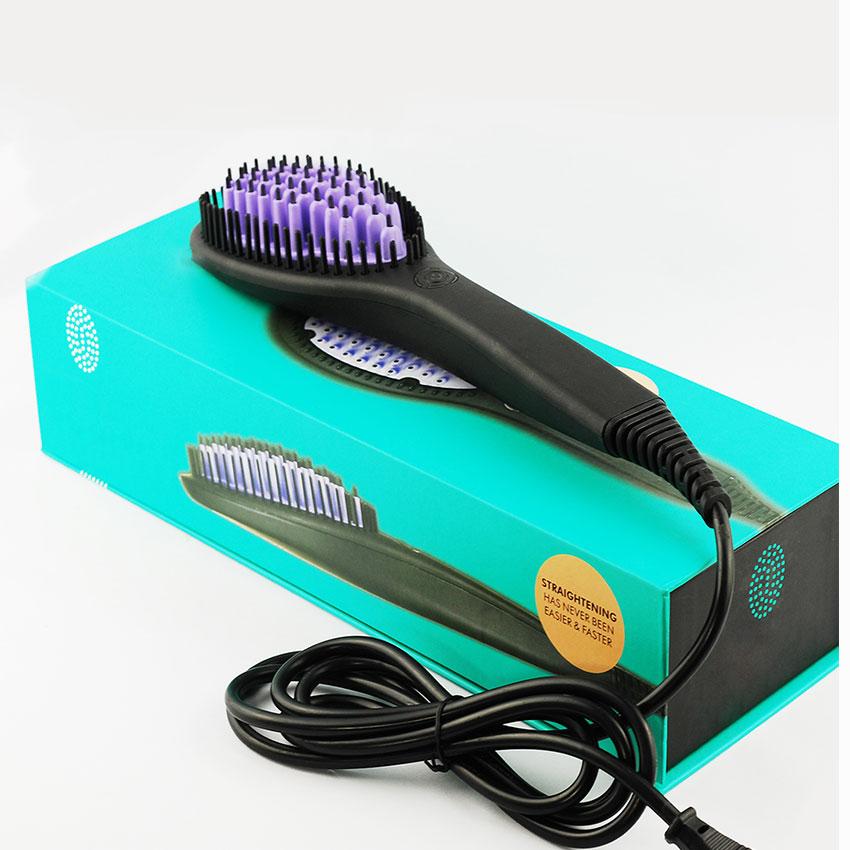 Lược điện chải thẳng tóc chuyên nghiệp 9007 cách nhiệt an toàn chuyên dụng cho cá nhân, tiện lợi mang theo bất cứ đâu dễ cầm nắm giúp chải thắng tóc vào nếp suôn mượt