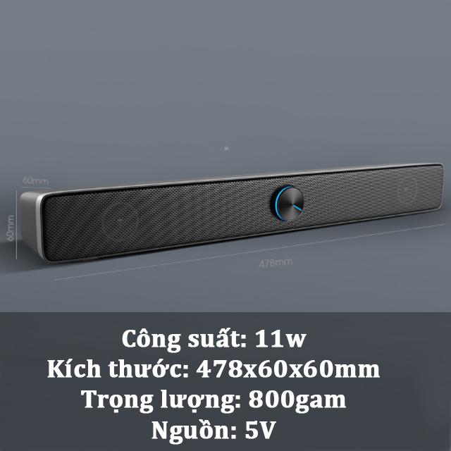 Hàng Chính Hãng -  Loa Máy Vi Tính, TiVi  SADA V-193, Âm Thanh Siêu Trầm