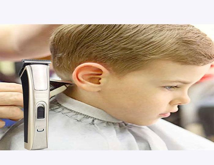 Tông đơ cắt tóc pin sạc hớt tóc cho bé và người lớn NK-1700