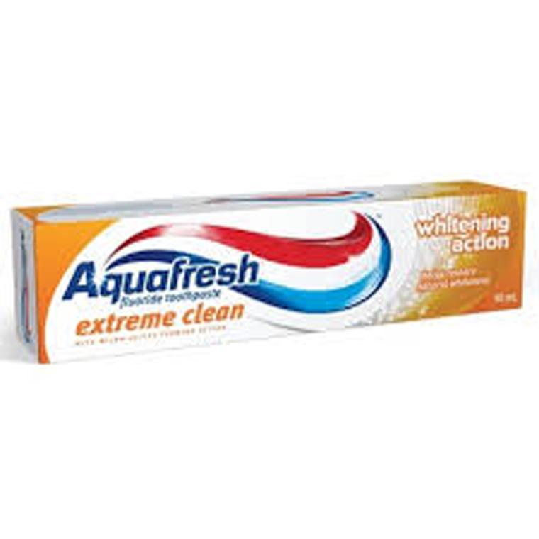 Combo 2 Kem Đánh Răng Aquafresh Extreme Clean Whitening Action - Phục Hồi Độ Trắng Bóng Tự Nhiên