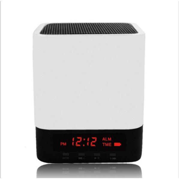 Đồng hồ báo thức kết hợp loa bluetooth, Radio FM có màn hình Led