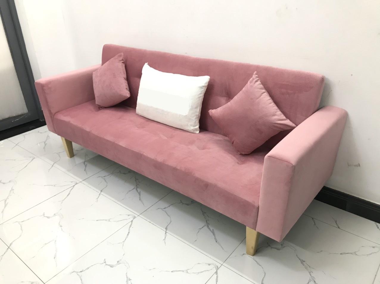 Ghế dài 2mx90 sofa bed tay vịn phòng khách linco10