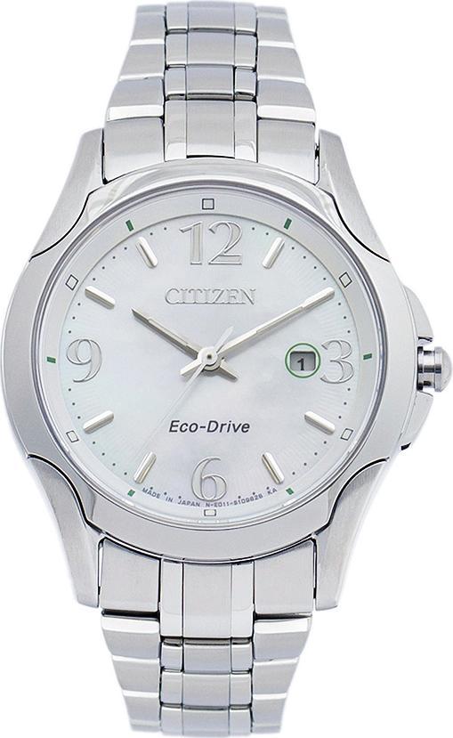Đồng Hồ Citizen Nữ Dây Kim Loại Máy Eco-Drive EW1780-51A - Mặt Xà Cừ (31mm)