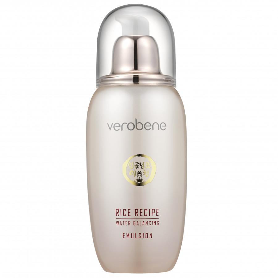 Sữa dưỡng trắng da cần bằng độ ẩm - Verobene Rice Recipe Water Emulsion