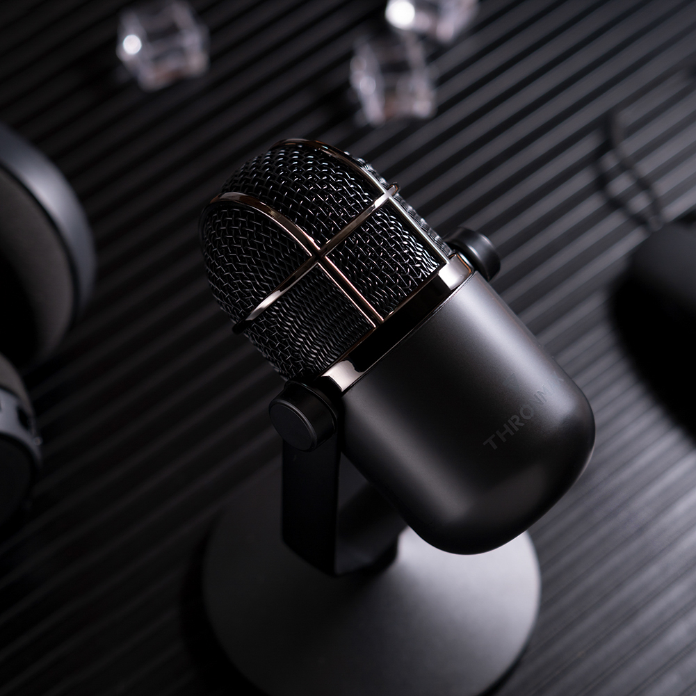 Microphone Thronmax Mdrill Dome M3 Plus Jet Black 96Khz Hàng Chính Hãng