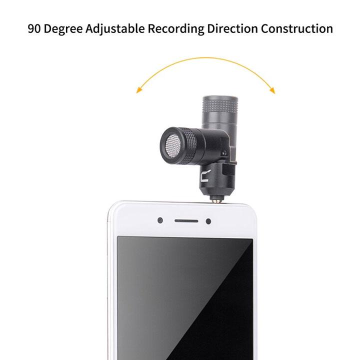 Micro siêu nhỏ gọn cho smartphone, máy ảnh và máy quay Comica CVM-VS07 - Hàng Chính Hãng