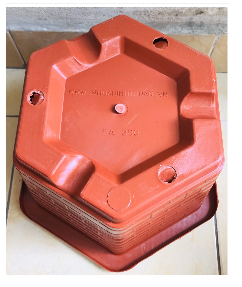 3 Chậu Nhựa Trồng Cây Cảnh, Hoa FA-380 Bình Thuận Plastics
