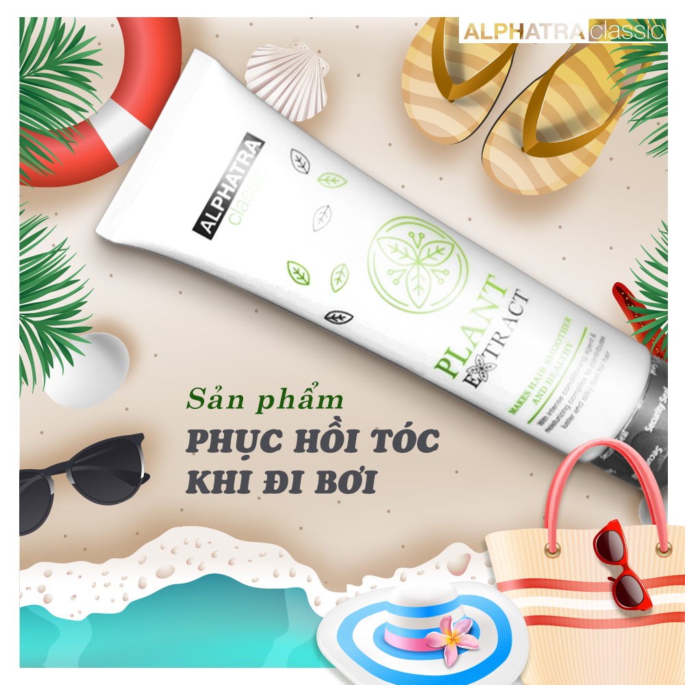 PLANT EXTRACT - Kem xả tóc | Alphatra Classic | 160ml